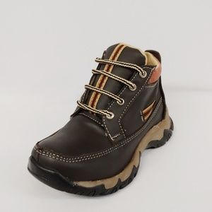 Other - Chocolate Brown Lace-Up Ankle Boot